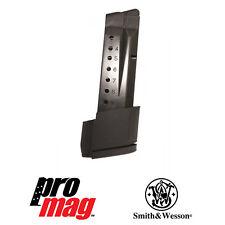 ProMag Smith & Wesson Shield 9mm 10 Round Blue Steel Magazine SMI28