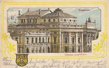 Postkarte - Gruss aus Wien / Burgtheater
