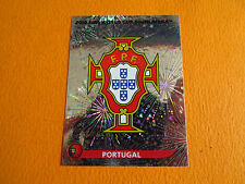 544 BADGE ECUSSON  PORTUGAL PANINI FOOTBALL FIFA WORLD CUP 2010 COUPE DU MONDE
