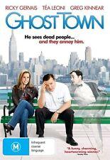 GHOST TOWN Ricky Gervais DVD R4 New / Greg Kinnear / Tea Leoni