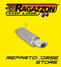 RAGAZZON TERMINALE SCARICO OVALE 110x65mm PEUGEOT 206 cc 1.6 16V 80kW 18.0145.13