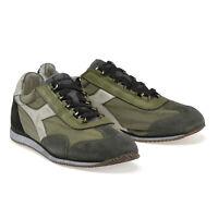 DIADORA HERITAGE Scarpe da Uomo Sneakers Equipe Sw Dirty Camoscio  N.42