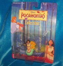Vintage Disney Pocahontas Seated Sunflowers Figure PVC Collectible 1990s NIP NOS