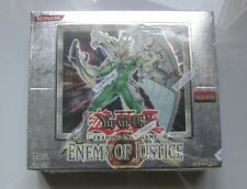 YU-GI-OH Enemy of Justice 1st.Ed. New Factory Sealed box Extremely Rare!