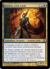 DRALNU, LICH LORD Time Spiral MTG Gold  Creature — Zombie Wizard RARE