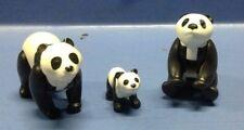 (B165) playmobil famille panda, zoo