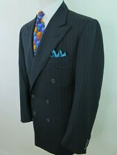 Kiton Napoli Men Wool Cashmere Striped Italian Blazer Jacket Sport Coat 38/40 R