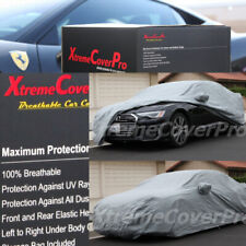 2016 2017 2018 2019 2020 AUDI A8 A8L S8 BREATHABLE CAR COVER W/MIRRORPOCKET -GRY