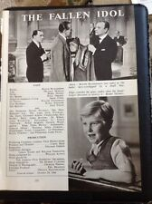 M3-1 Ephemera 1949 Picture Article 1949 Film The Fallen Idol Bobby Henry