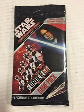 STAR WARS Order 66 Pocketmodel TCG Game Pack 4-8 Miniatures Per Pack 10 pack lot
