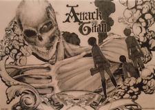 Attack on Titan Shingeki no Kyojin Visual Mat Ichiban Kuji Eren Mikasa Armin K