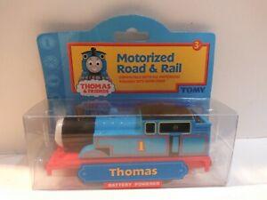 Thomas & Friends Engine Train Motorized Road & Rail RARE HTF 2003 Tomy