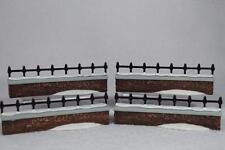 Dept 56 Dickens' Village 'Churchyard Fence Extensions' 4 Pc. Acc #5807-6 Retd