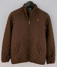 Boys Polo By Ralph Lauren Jacket QuiltedCasual Breathable M 10-12 ZKA25