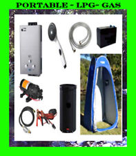 Country Comfort LPG Gas Portable Hot Water Heater Ultimate Camping Combo