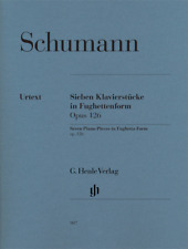 Henle Urtext Schumann Seven Piano Pieces in Fughetta Form Opus 126