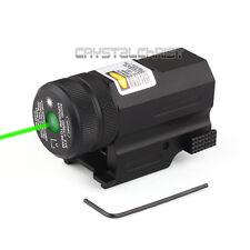 Green Pistol Rifle Laser Sight w/ Ambidexterous Switch For Glock 17 19 22