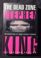 1994 THE DEAD ZONE by Stephen King 1st Plume Paperback VF- Collectors Edition