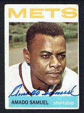 Amado Samuel #129 signed autograph auto 1964 Topps Baseball Trading Card