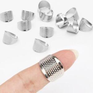 Fingerhut Quilting Metall-Fingerhut Ring DIY Handwerk Fingerschutz Fast