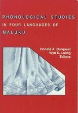 Phonological Studies in Four Languages of Maluku No. 108 (1992, Paperback)