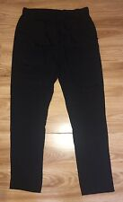 3.1 Phillip Lim Black 100% Silk Drape Pocket Classic Trousers  UK 10 US 6 FR 38