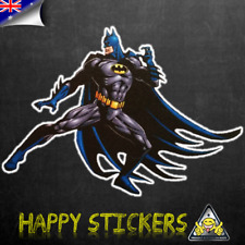 Batman Combat Ready Skateboard Luggage Scooter Car Guitar Vinyl Decal Sticker