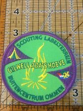 "SCOUTS OF GILWELL Ada's Hoeve SCOUT CAMP EMBLEM 3"" PATCH"