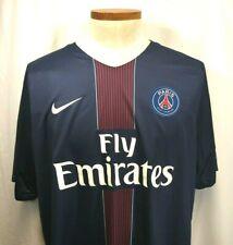 Nike Fly Emirates Paris Saint-German Dri-Fit Soccer Jersey Nwt Men's 2Xl Xxl