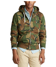Polo Ralph LaurenCamo Long-Sleeve Full-Zip Fleece Hoodie, Large
