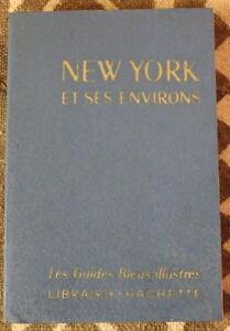 NEW YORK & ses environs ✤ Guide Bleu ✤ 1969