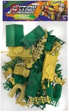 Jumbo Plastic Toy Soldiers Set Childrens Toys Army Battle Figure Pack Large Bag