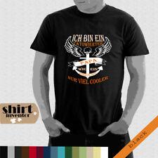 Tätowierter Papa, Cool, Fun, Anker, Totenkopf, Rock T-Shirt bis 5XL TD068