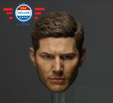 Custom 1/6 Supernatural Dean Winchester Jensen Ackles Head sculpt for 12'' Male