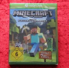 Minecraft Xbox one Edition Favoriten Paket enthält 7 DLC, Neu, deutsche Version
