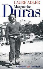 Marguerite Duras.Laure ADLER.Gallimard  CV1