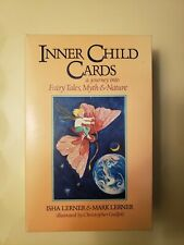 Inner Child Fairy Tale Tarot Cards With Book Isha Lerner & Mark Lerner 1992