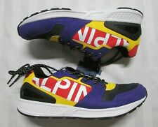 POLO RALPH LAUREN Mens TRAIN 100 Downhill Skier Purple Tech-Suede Sneakers
