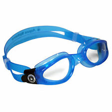 Aqua Sphere Kaiman Small Fit Clear Lens Kids Adjustable Swimming Goggles *SALE*