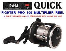 DAM QUICK FIGHTER PRO 300 MULTIPLIER REEL+LINE FOR SEA UPTIDE BOAT ROD FISHING