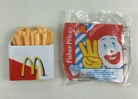 Fisher Price Fun with Food McDonalds Fries Happy Meal Toy Vintage 1997 A22