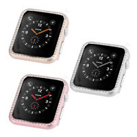 For Apple Watch iWatch Series1 2 3 Case Cover Protective Frame Shell Bling Shiny