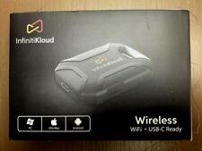 InfinitiKloud Wireless WiFi + USB-C Ready Storage Device