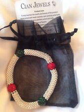 Cian Jewels designer white gold plated crystal  swarovski, bracelet  shamballa