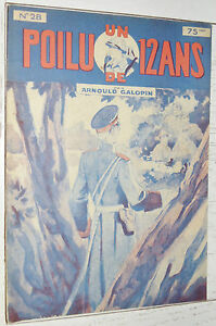 N°28 UN POILU DE 12 ANS  ARNOULD GALOPIN 1929