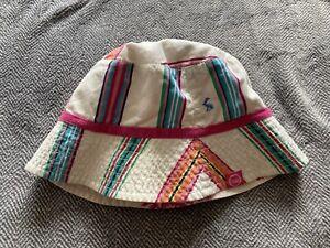 Joules Girls Bucket Summer Reversible Hat