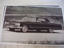 1967 CHRYSLER IMPERIAL CROWN     11 X 17  PHOTO   PICTURE