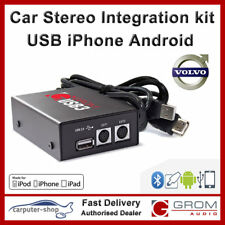 GROM USB3 iPhone Android USB for VOLVO S40 V40 S60 S70 V70 S80 XC70 with HU-xxx