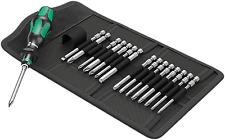 Wera Tool Screwdriver Rapidator Quick Release Bit Holding KK 60 Set 17 Pc
