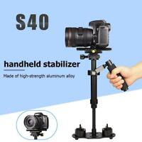 S40 Handheld Aluminum Alloy Video 360° Stabilizer Mount for Phone DSLR Camera
